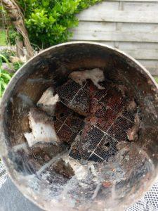 Roetfilter verwijderen